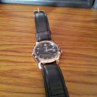 Playboy Black Leather. Watch