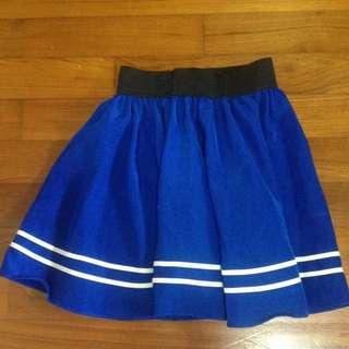 Blue Sailor Uniform Skirt