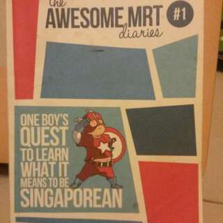 Awesome MRT Diaries By Adeline Foo And Roald Dahl The Magic Finger and The Giraffe, The Pelly & Me