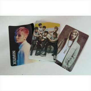 Exo Ezlink Card Stickers