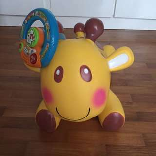 Inflatable Giraffe For Jumping
