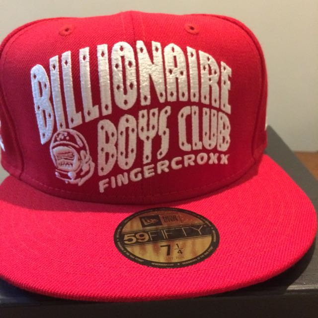 3bfdd038ecc21 BILLIONAIRE BOYS CLUB x BIG FOOT x FINGERCROXX 10th Anniversary Fitted New  Era Cap