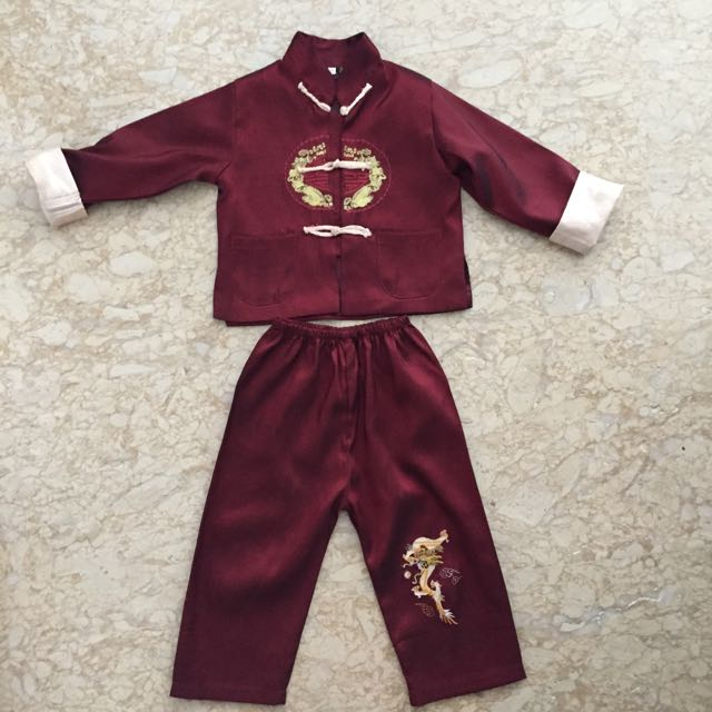 Chinese New Year outfit ( Boy)