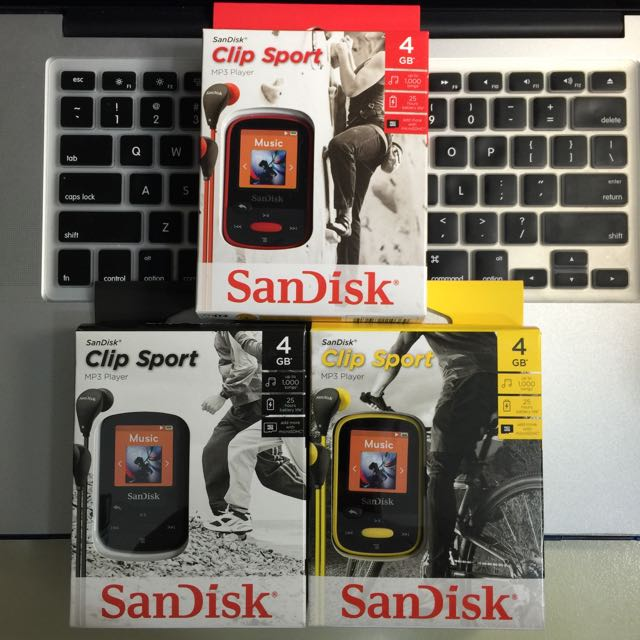 Sandisk Sansa Clip Sport MP3 Player ( Brand New And Sealed
