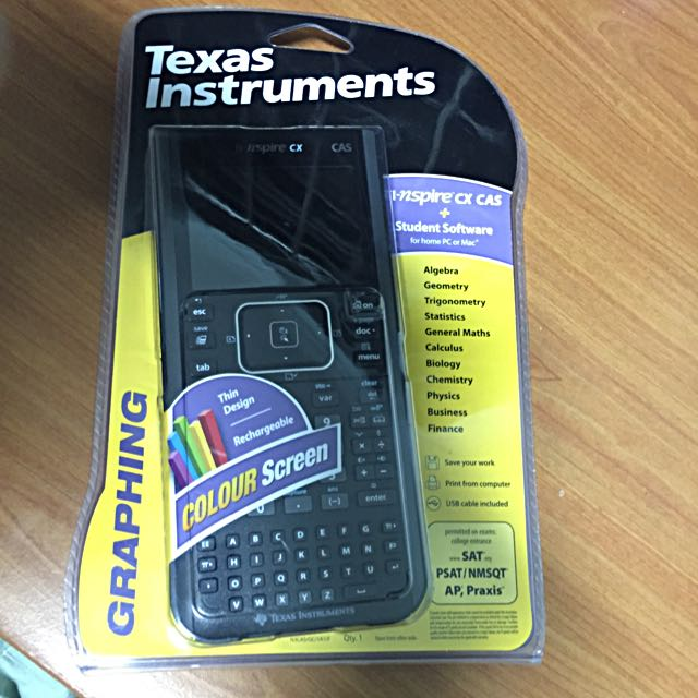 TI-Nspire CX CAS Graphing Calculator with TI-Nspire Student