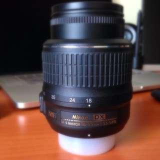 Nikon 18-55 VR kit Lens