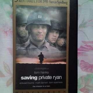 Saving Private Ryan VHS Original Tape Movie U.S. Import.