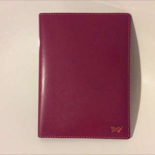 Braun Buffel Pink Passport Holder