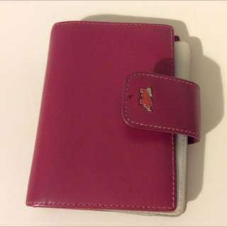 Braun Buffel Leather Card Holder