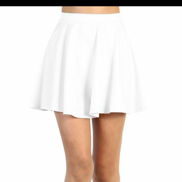Brand New White Skirt