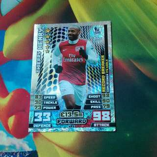 Record Breaker Thierry Henry Match Attax