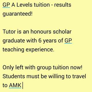 A Level GP Notes