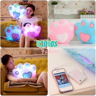 Luminous Pillow Paw
