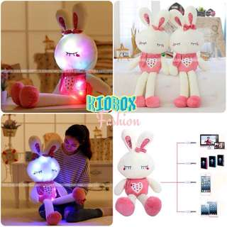 Cute Rabbit doll luminous