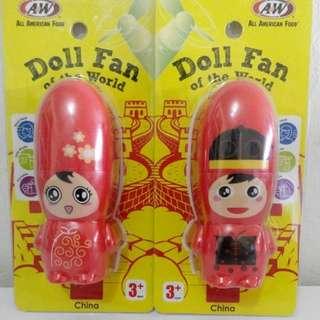 A&W COUPLE DOLL FAN