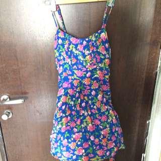 Blue Floral Forever 21 Sundress