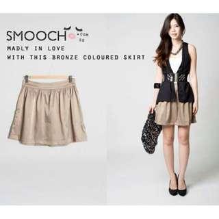 Bronze Smooch Skirt