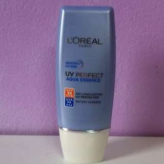 Authentic L'oreal Paris UV Perfect AQUA ESSENCE : SPF 30+++