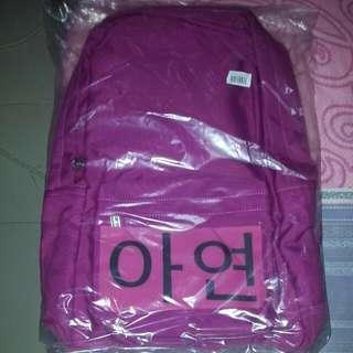 BN Pink Zinc(아연)Korean-inspired Haversack/backpack