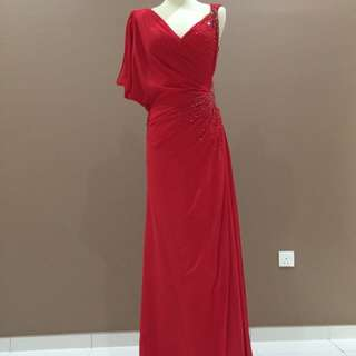 Evening Gown - Red Colour