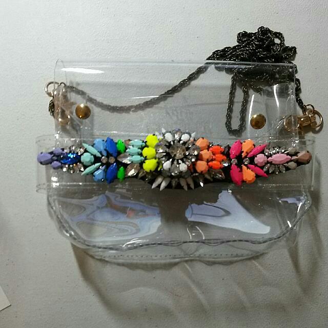 Shourouk Inspired Clutch/Sling Bag