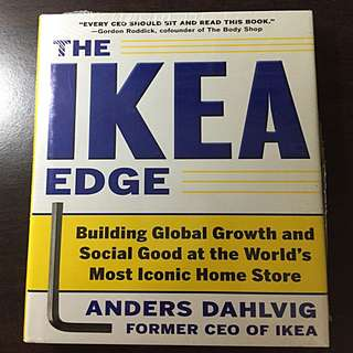 The IKEA Edge by former CEO Of IKEA