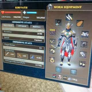 Selling Runescape Account