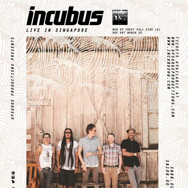Incubus Live In Singapore