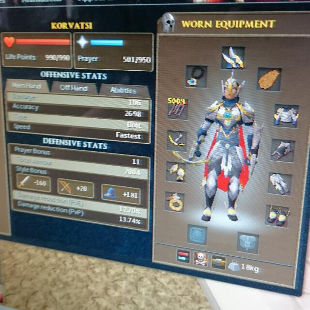 Selling Runescape Account