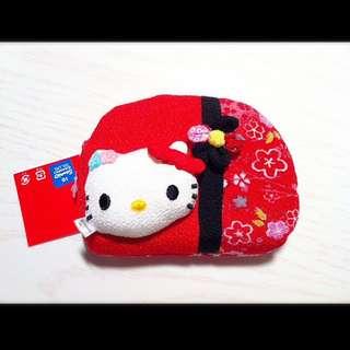 日本進口Kitty零錢包