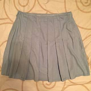 Tennis Skirt In Light Blue