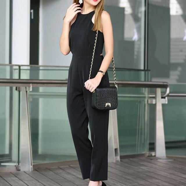 c51179207e3 Static Fumes black jumpsuit (not mds