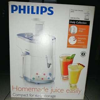 BNIB Philips Fruit Veg Juicer