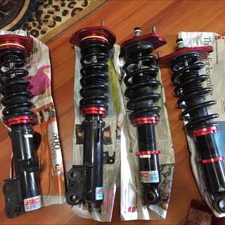 BC V1 full coilovers for Toyota Wish PFL/NFL only