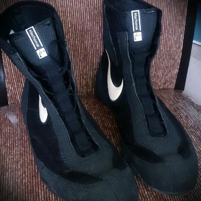 14989f7a2ee Nike Machomai Mid Cut Boxing Shoes