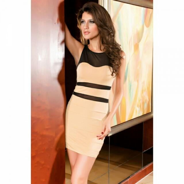 Sexy Acrylic And Spandex Vest Corsets Dress One Size Complexion/Black