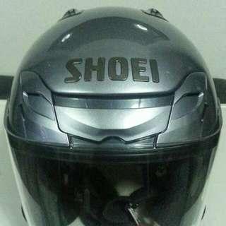 Shoei JF 3 Pearl Grey Metallic XL(Top Padding L)