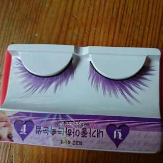 BN instock Purple Fake Lashes