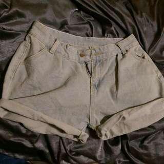🇳🇪🇼仿古顏色牛仔短褲