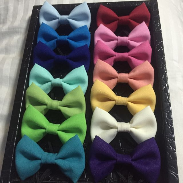 Baby Bowtie  (Pack of 3/ Pack of 6)