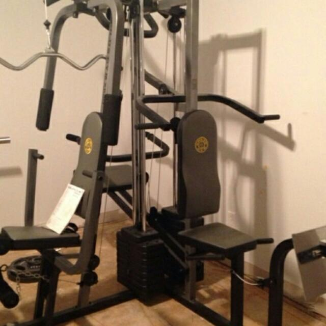 Xr home exercise gold s gym review