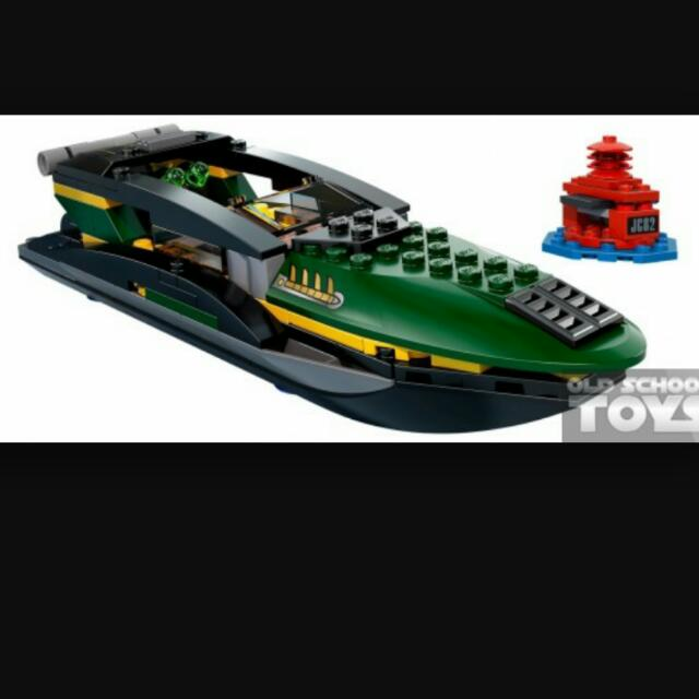 Lego Mandarin Boat (From Set 76006)
