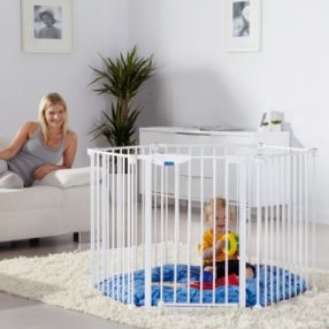 Playpen Lindam Safe Secure Playpen Babies Kids on Carousell