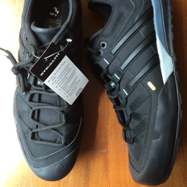 check-out 62af2 87a0c Adidas Terrex Solo Approach Shoe, Men's Fashion on Carousell