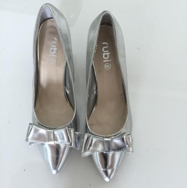 Rubi Silver Shoes 38