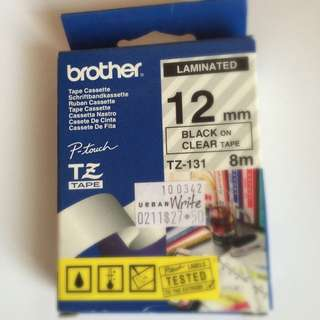 (BNIB) Brother P-touch TZ Tape