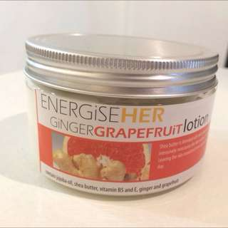 Energise Her - Ginger & Grapefruit Body Lotion
