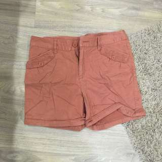 Size 31 Mustard Shorts From BOSSINI