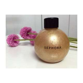 Authentic Sephora Gold Shimmering Oil