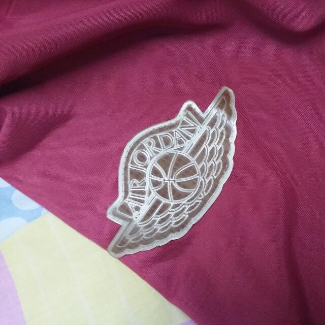 e8596a6396cc20 Air Jordan Wings Logo Varsity Jacket
